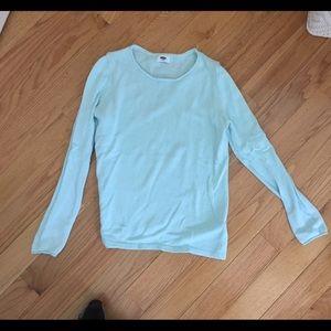 Old Navy Light Blue Sweater