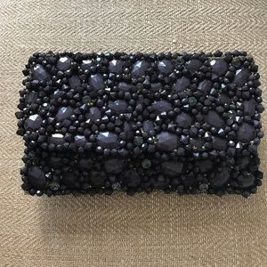 Anthropologie Handbags - 🆕LISTING! Anthro Studded clutch