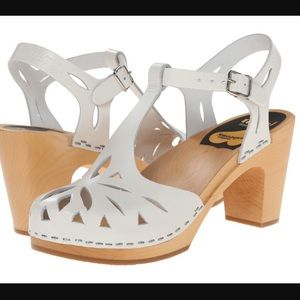 Swedish Hasbeens Shoes - 💄 Super High Lacy White Hasbeens New in Box 39 💄