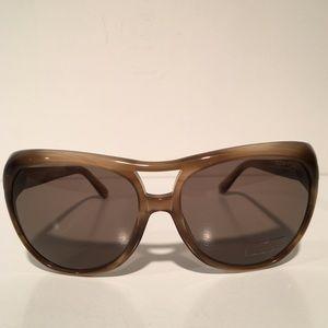 Tom Ford Accessories - Tom Ford Claudette Square Transparent Sunglasses