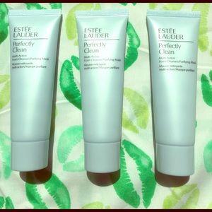 Estee Lauder Other - Estée Lauder Perfectly Clean cleanser/mask trio