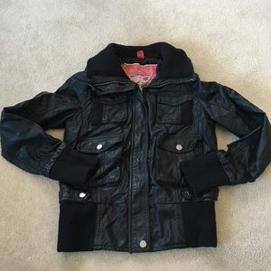 Collection B Jackets & Blazers - Collection B by BERNARDO faux leather jacket