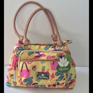 Lily Bloom Handbags - Lily Bloom Maggie Satchel 'Beach Days' NWT 🎉HP🎉