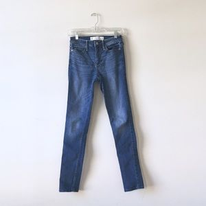 Abercrombie & Fitch Denim - A&F high waisted skinny jeans