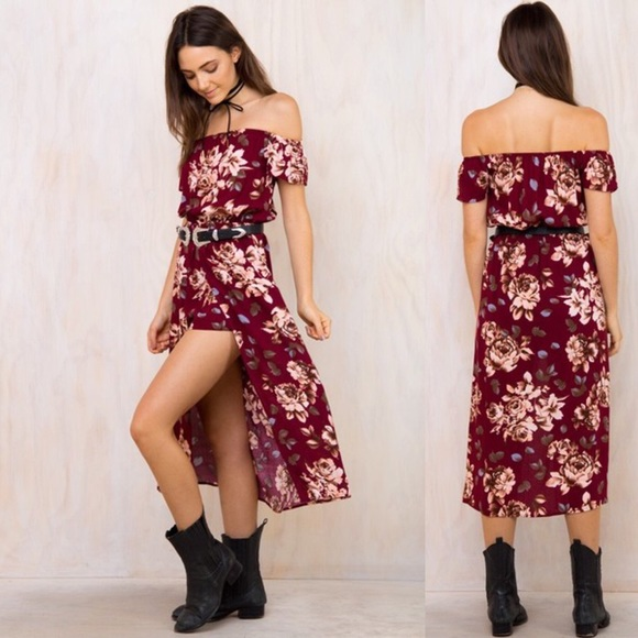 Pants - 🎈NEW IN 💃Beautiful high-low floral romper 💃🎈