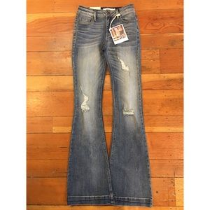cello jeans Denim - NWT cello flare jean with great stretch & hem