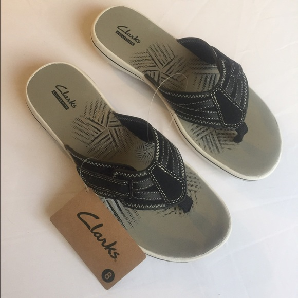 890549974c0 Clarks NEW  55 Comfy Flip-Flops Size 8 Medium