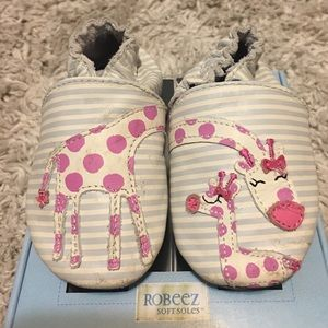 Robeez Other - Robeez soft sole shoes. 6-12 months