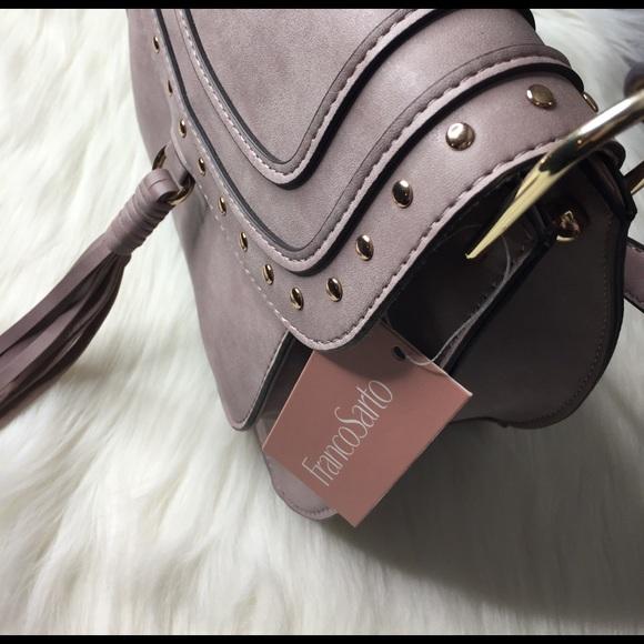 Franco Sarto Bags - NEW Franco Sarto Rex Saddle Crossbody Lilac