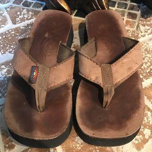 Rainbow Shoes - Brand rainbow sandals 1.5 inch platform.