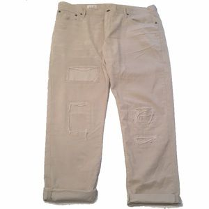 GAP distressed Cords w/ patches📌