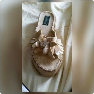 Harve Benard Shoes - Platform Espadrille Sandals