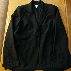 A Pea in the Pod Jackets & Blazers - A pea in the pod large black blazer