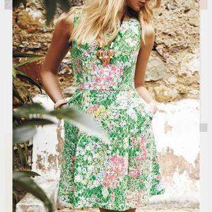 Anthropologie Dresses & Skirts - Maeve Anthropologie Laced Verbena dress Spring