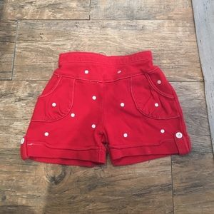 Le Top Other - Girls red shorts
