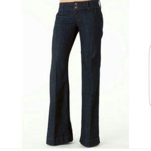 ALLOY Denim - Piper Double Button Stretch Trouser