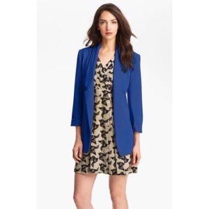 Eliza J Jackets & Blazers - Open boyfriend cobalt blue blazer