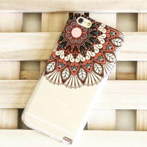 1 LEFTBoho Henna Protective Case IPhone 6/6S