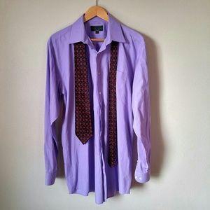 Alexander Julian Other - Purple Dress Shirt XLT 17-36/37 Dress Shirt