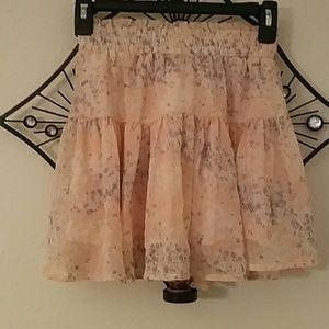 B Jewel Dresses & Skirts - Adorable floral mini skirt