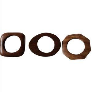 Jewelry - Women's Brown Wooden Bracelet