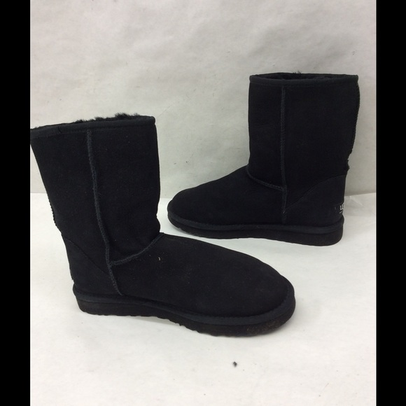 e715cc2f85a Ugg Australia Carter Short Boot Black Suede - cheap watches mgc-gas.com