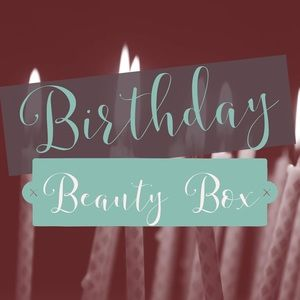 🎈🎂Birthday 🎉 Beauty Box 🎈🎂💄