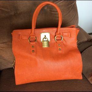 Beautiful inspired bag, orange color