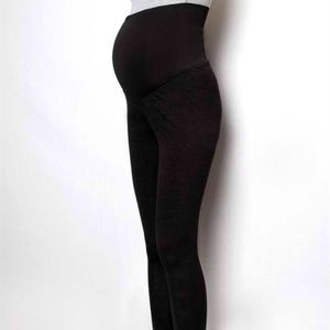 Zenana M Pants - Maternity Stretchy Leggings with Shirred Bottom