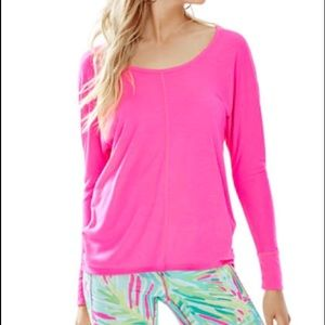 Lilly Pulitzer Luxletic Long sleeve