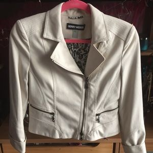 Gerry Weber Jackets & Blazers - Faux Seude Moto Jacket Blazer