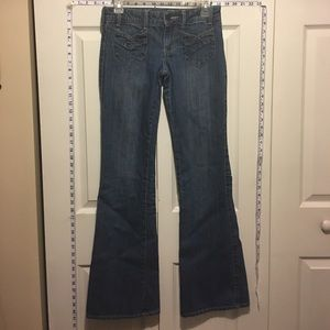 American Eagle Outfitters Denim - American Eagle Flare Long Jeans