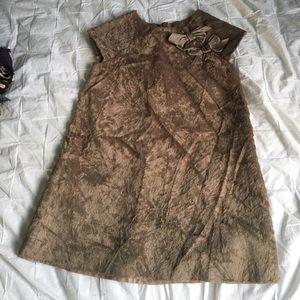 Lili Gaufrette Other - Lili gaufrette light brown dress