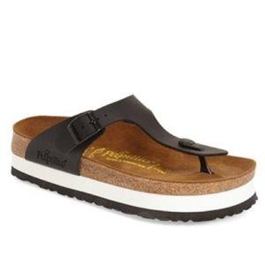 Birkenstock Shoes - Birkenstock 'Gizeh' Birko-FlorPlatform Sandal $100