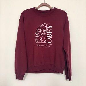 Obey Tops - Soft Obey Propaganda Sweatshirt