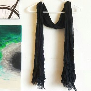 Mossimo Supply Co Accessories - Black Lightweight Scarf