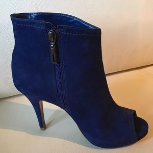 SCHUTZ Shoes - ❤️Schutz Women's Ankle Boot Navy Blue Suede❤️