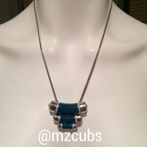 Lia Sophia Jewelry - Lia Sophia Queue in Turquoise necklace