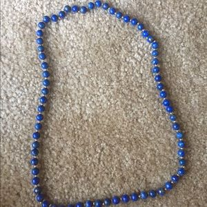 Jewelry - Blue lapis necklace
