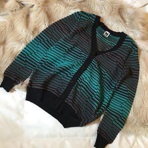 Missoni Sweaters - ✨Missoni teal and black sweater