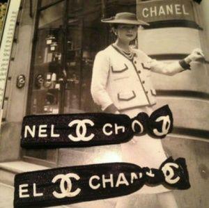CHANEL  Accessories - 2 CHANEL VIP elastic hair tie set New no box