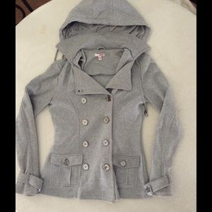 BONGO Jackets & Blazers - Gray Peacoat look like Jacket