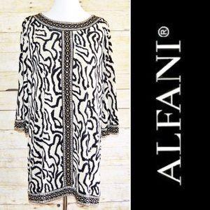 Alfani Dresses & Skirts - Alfani Beaded & Patterned Dress