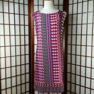 Donna Morgan Dresses & Skirts - DONNA MORGAN  Sleeveless Geometric Dress Size 8