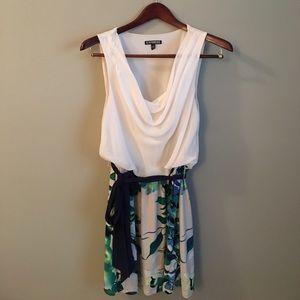 Express Dresses & Skirts - Express NWOT Sleeveless Cowlneck Mini Dress