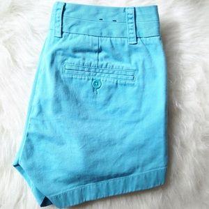 "J. Crew Pants - J. Crew Baby Blue 5"" Chino Shorts"
