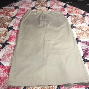 Ralph Lauren Dresses & Skirts - Ralph Lauren Midi Khaki Skirt