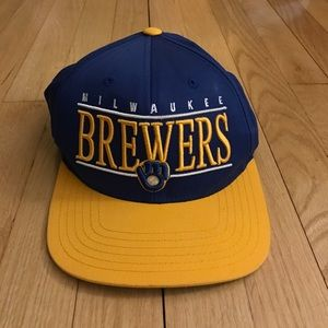 American Needle Accessories - Milwaukee Brewers Snap Back