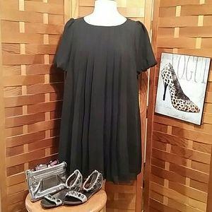 Twelve By Twelve Dresses & Skirts - TWELVE BY TWELVE LOS ANGELES BLACK TUNIC DRESS LG