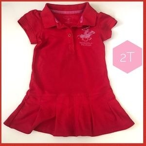 U.S. Polo Assn. Other - 2t Polo dress girls Beverly Hills Polo w/jewels